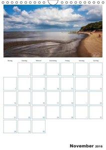 Friesland - Nordseebad Dangast (Wandkalender 2016 DIN A4 hoch)