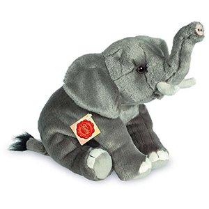 Teddy Hermann 907299 - Plüsch-Elefant, 28 cm