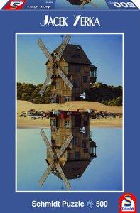 Schmidt Spiele 59510 - Jacek Yerka: Spiegelung, Puzzle, 500 Teil