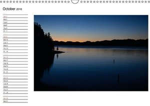 Impressions from the USA / UK-Version (Wall Calendar 2016 DIN A3