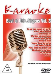 Best Of Udo Jürgens Vol.3-Karaoke DVD - zum Schließen ins Bild klicken