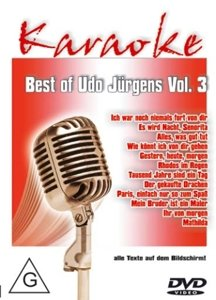 Best Of Udo Jürgens Vol.3-Karaoke DVD