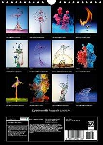 Experimentelle Fotografie Liquid Art (Wandkalender 2016 DIN A4 h