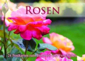 Rosen Postkartenbuch