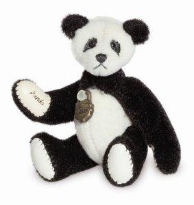 Teddy Hermann 15769 - Panda, 6 cm