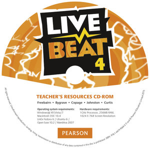 Live Beat 4 Teacher's Resources CD-ROM