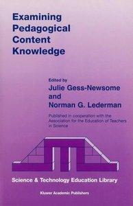 Examining Pedagogical Content Knowledge