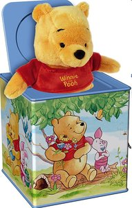 Simm 52926 - Bolz Jack in the Box: Winnie the Pooh