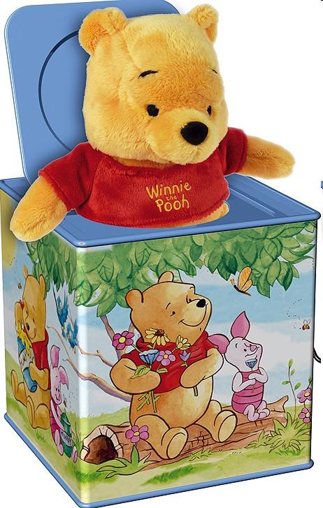 Simm 52926 - Bolz Jack in the Box: Winnie the Pooh - zum Schließen ins Bild klicken