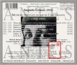 Grasso Werke Für Bläser