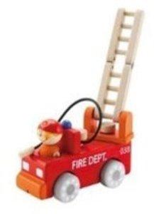 Sevi 82240 - Feuerwehrauto für Parkhaus