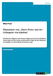 """Filmanalyse von: """"Harry Potter und der Gefangene von Askaban"""""""