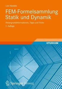 Nasdala, L: FEM-Formelsammlung Statik und Dynamik