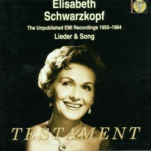Lieder & Songs-Unveröffentl.EMI Aufnahmen 1955-64
