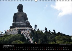 Monuments of Hong Kong 2015 (Wall Calendar 2015 DIN A3 Landscape
