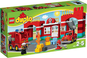 Lego 10593 - Duplo Feuerwehr-Hauptquartier