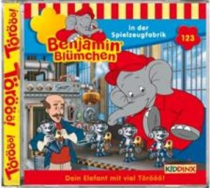Benjamin Blümchen 123 in der Spielzeugfabrik