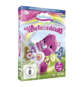 Glücksbärchis-Wunderherzbärchi (DVD+CD)