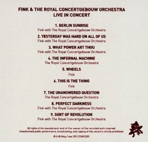 Meets The Royal Concertgebouw Orchestra