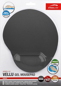 VELLU Gel Mousepad, grey