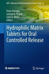 Hydrophilic Matrix Tablets for Oral Controlled Release