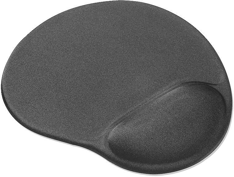 VELLU Gel Mousepad, grey - zum Schließen ins Bild klicken