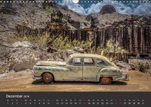 Vergessene Zeitzeugen entlang der Route 66 (Wandkalender 2016 DI