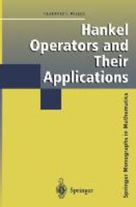 Hankel Operators and Their Applications