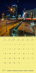 Tallinn lights (Wall Calendar 2015 300 × 300 mm Square)