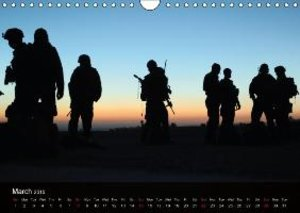 Special Forces Army Operations (Wall Calendar 2015 DIN A4 Landsc