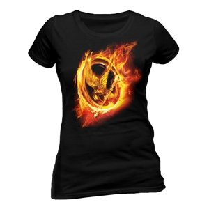 The Hunger Games-Fire Mocking Jay-Size S Girlie