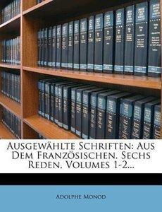 Ausgewählte Schriften.