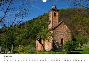 Naturschauplätze der Südpfalz (Wandkalender 2016 DIN A3 quer)