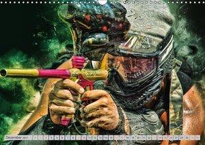 Paintball - extrem cool (Wandkalender 2017 DIN A3 quer)