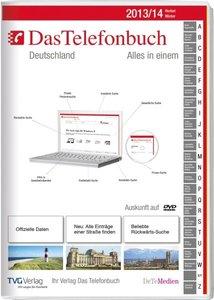 Das Telefonbuch. Deutschland Herbst/Winter 2013/14 inkl. Rückwär