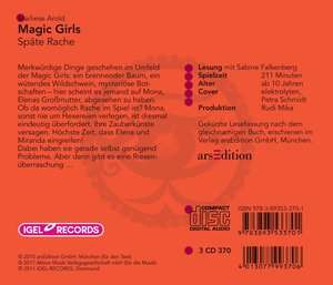 Magic Girls 06-Späte Rache