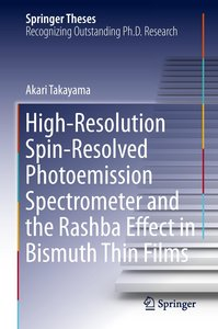 High-Resolution Spin-Resolved Photoemission Spectrometer and the