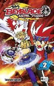 Adachi, T: Beyblade: Metal Fusion 02