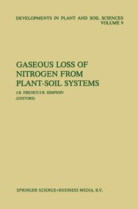 Gaseous Loss of Nitrogen from Plant-Soil Systems