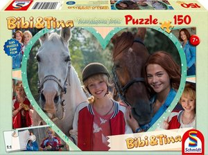 Bibi & Tina. Bibi. Mädchenfreundschaft. Puzzle zum Film 4. 150 T