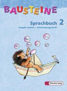 Bausteine Sprachbuch 2. Ausgabe Sachsen. Schulausgangsschrift. N