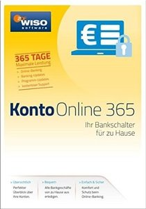 WISO Konto Online 365 2017. Für Windows Vista, Windows 7, Window