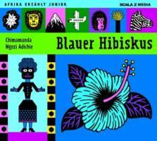 Blauer Hibiskus - zum Schließen ins Bild klicken
