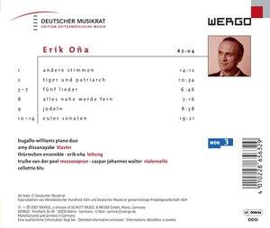 Andere Stimmen/Tiger und Patriarch/Funf Lieder