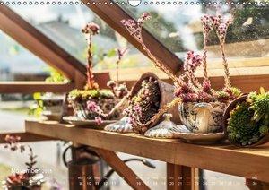 RHS Hampton Court Designer Gardens (Wall Calendar 2015 DIN A3 La