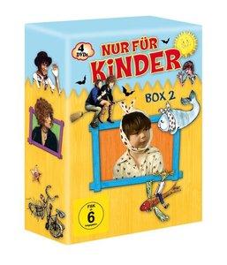 Kinder-Box 2 (Saxana - Das Mädchen auf dem Besenstiel; Der lange