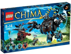 LEGO® Legends of Chima 70008 - Gorzans Gorilla-Roboter