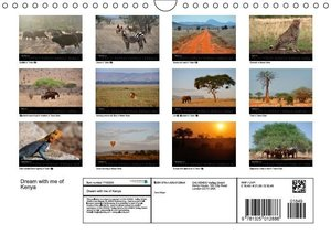 Dream with me of Kenya (Wall Calendar 2015 DIN A4 Landscape)