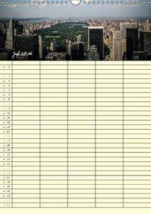 New York Familienplaner (Wandkalender 2016 DIN A3 hoch)