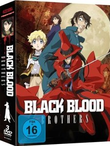 Black Blood Brothers - Gesamtausgabe - DVD-Box (3 Discs)